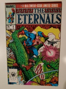 MARVEL COMICS THE ETERNALS #4 OF 12 Limited series