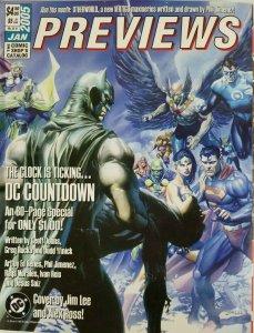 Previews Comic Catalog January 2005 Batman - DC Countdown - Justice League FN