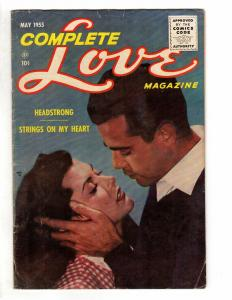 COMPLETE LOVE MAGAZINE VOL. 31 #2 (#183) VG May 1955 COMICS BOOK