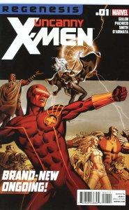 Uncanny X-Men (2012) 1   9.0 (our highest grade)  Regenesis