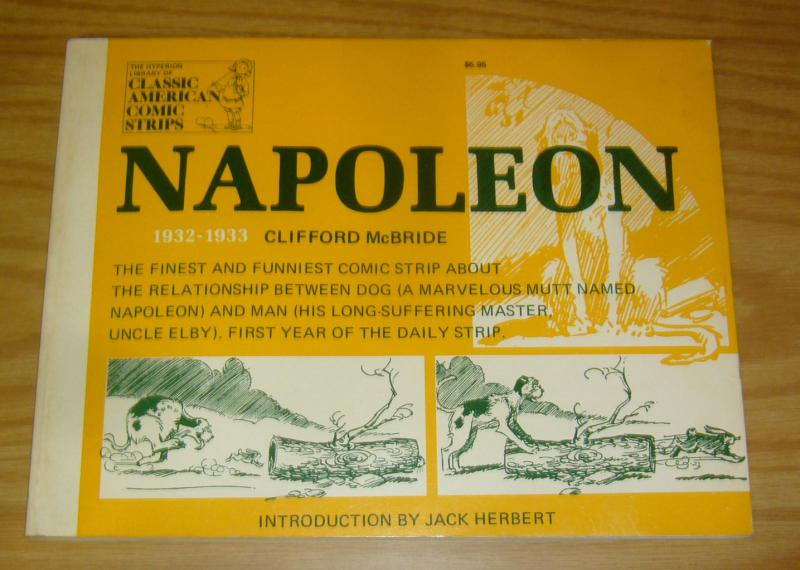 Napoleon SC VF clifford mcbride - classic american comic strips reprints 1932