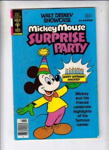 Walt Disney Showcase Mickey Mouse Surprise Party #47 (Nov-78) VF High-Grade M...