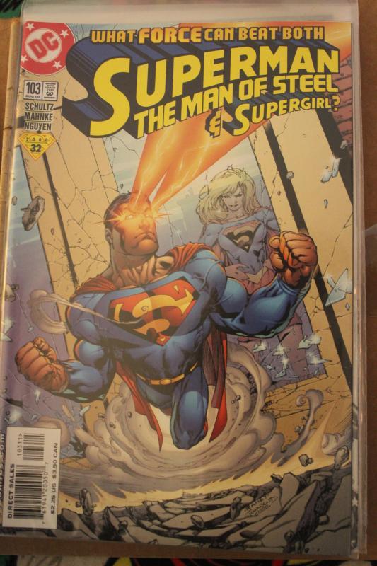 Superman the Man of Steel 103 NM/MT
