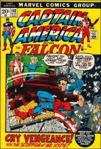 Marvel CAPTAIN AMERICA (1968 Series) #152 FN+