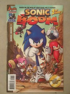 SONIC BOOM #1 SEGA SET OF 4 COVERS ARCHIE COMICS NM.
