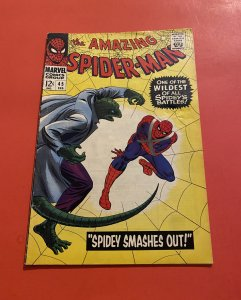 The Amazing Spider-Man #45 (1967) The lizard