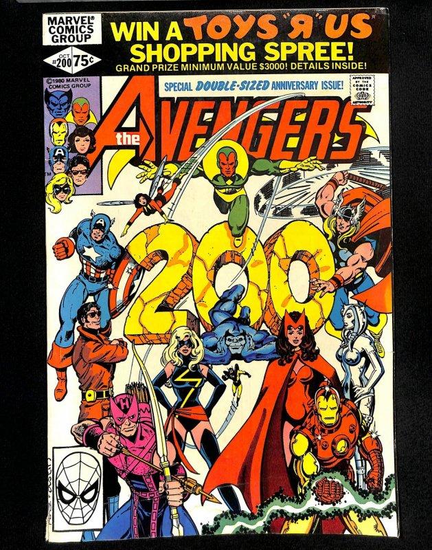Avengers #200 Ms. Marvel leaves the Avengers!