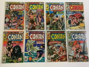 Conan the Barbarian lot 25 different from #90-120 avg 5.0 VG FN (1978-81)