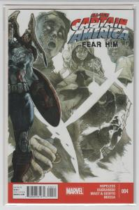 ALL NEW CAPTAIN AMERICA FEAR HIM (2014 MARVEL) #4 NM- AG4Q36