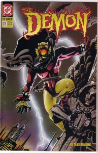 Demon (vol. 3, 1990) #22 VG Matt Wagner