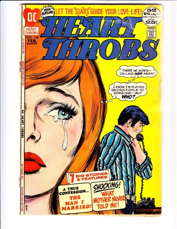 Heart Throbs #138 (Feb-72) GD Affordable-Grade