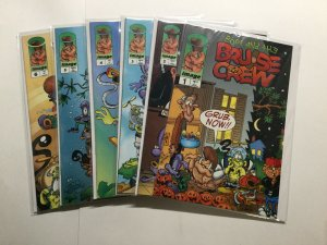 Boof And The Bruise Crew 1-6 1 2 3 4 5 6 Lot Run Very Fine-Near Mint Vf-Nm Image