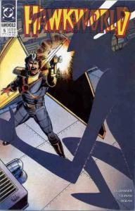 Hawkworld (1990 series) #5, VF+ (Stock photo)