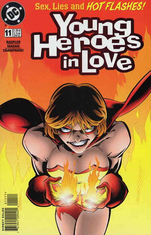 Young Heroes in Love #11 VF/NM; DC | save on shipping - details inside