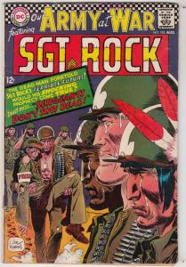 Our Army at War #183 (Aug-67) VG/FN Mid-High-Grade Easy Company, Sgt Rock