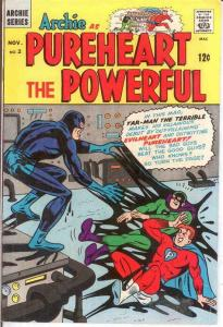 ARCHIE AS CAPT PUREHEART THE POWERFUL (1966-1967)2 F- COMICS BOOK