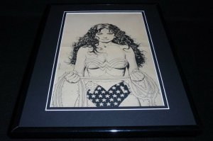 Wonder Woman #63 1992 Framed Cover Sketch Official Reproduction DC