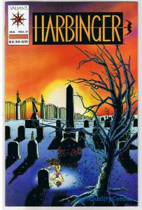 HARBINGER #7 VF/NM Valiant David Lapham 1992 more Variant in our store