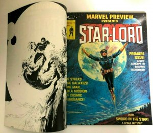 Marvel Preview #4 1st Star-Lord Super RARE Double Cover Error! Nice!