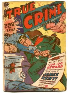 True Crime #4 1948- MURDER MORPHINE AND ME- missing page