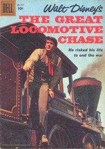 Great Locomotive Chase #1, VG- (Stock photo)