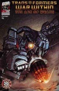 Transformers: War Within: The Age of Wrath #2, NM (Stock photo)