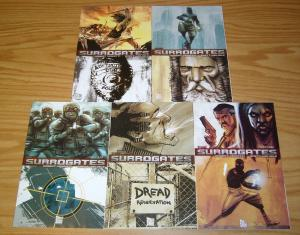 the Surrogates #1-5 VF/NM complete series - top shelf comics set lot 2 3 4