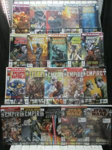Star Wars Dark Horse Lot of 30Diff from Empire to KOTOR to Rebellion!