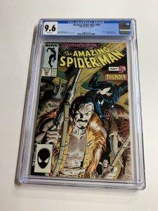 Amazing Spider-man 294 Cgc 9.6 White Pages Last Hunt