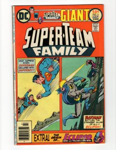 Super-Team Family #5 (FN-) Giant Superman Batman Eclipso Bronze Age DC