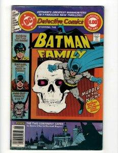 Detective Comics # 481 FN DC Comic Book Batman Robin Joker Catwoman SR1
