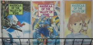 NAUSICAA VALLEY OF THE WIND- 3 ISSUES, FULL COMIC SIZE! Miyazaki, Gibli VF/+