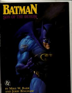 Batman Son of the Demon DC TPB Graphic Novel Comic Book Mike W. Barr J342