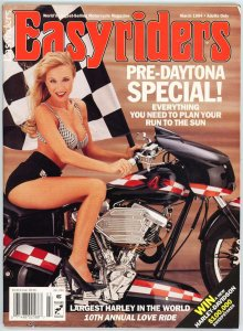 Easyriders Magazine 1994 Pre-Daytona Special  Largest Harley in the World