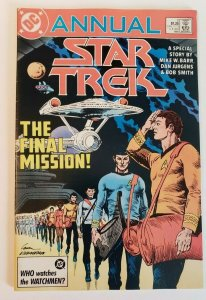 Star Trek Annual #2 DC Comics 1986 VF/NM- 9.0