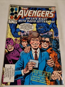 Avengers 239 Very Fine+ Cover by Al Milgrom