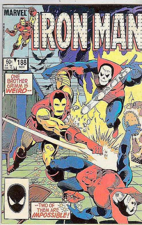 Iron Man #188 (Nov-85) VF High-Grade Iron Man