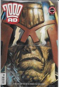 2000 AD #1273 FN Judge Dredd, Shakara, Storming Heaven, Bad Company