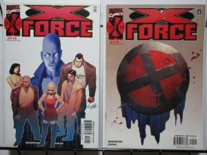 X FORCE 114-115  Epitaph complete story
