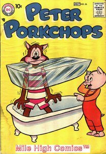 PETER PORKCHOPS (1949 Series) #56 Good Comics Book