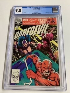 Daredevil 176 Cgc 9.8 White Pages Frank Miller Marvel 1st Stick 2061440017
