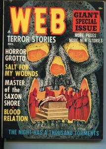 Web Terror Stories 11/1964-weird menace horror-bound babe-pulp thrills-VF/NM
