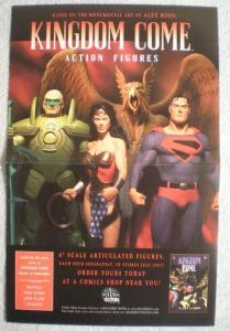 KINGDOM COME ACTION Promo poster, 11x17, 2003, Unused, Superman, Wonder Woman