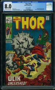 Thor #173 CGC 8.0