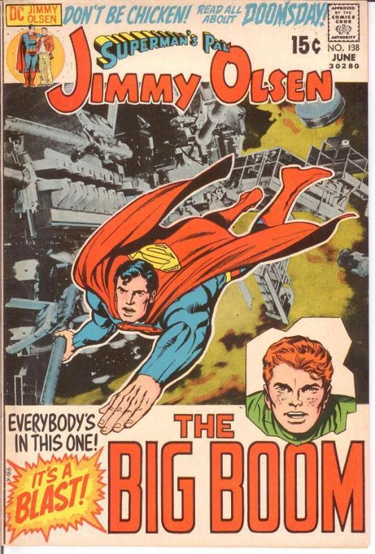 JIMMY OLSEN 138 FINE June 1971 KIRBY COMICS BOOK