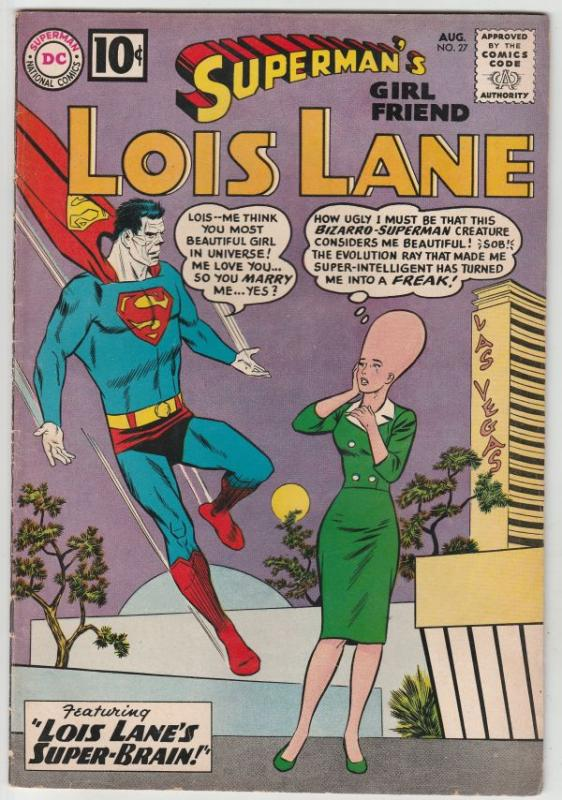 Superman's Girlfriend Lois Lane #27 (Aug-61) VF High-Grade Superman, Lois Lane