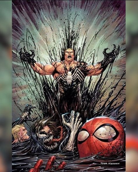 Venom #6 virgin variant EXCLUSIVE Kirkham