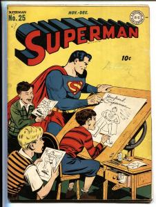 Superman #25 1943- DC Golden Age- comic book