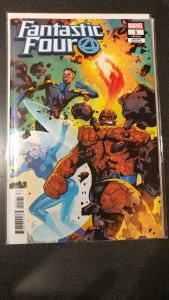 Fantastic Four #1 (2018) 1:25 Emanuela Luppachino Variant Marvel Comics