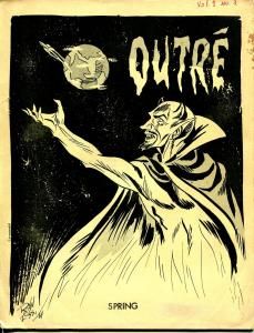 Outre #3 1964-Ron Foss-fanzine-sci-fi-comic book-Dick Lupoff-VG